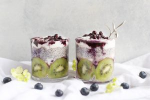 chia pudding night before breakfast